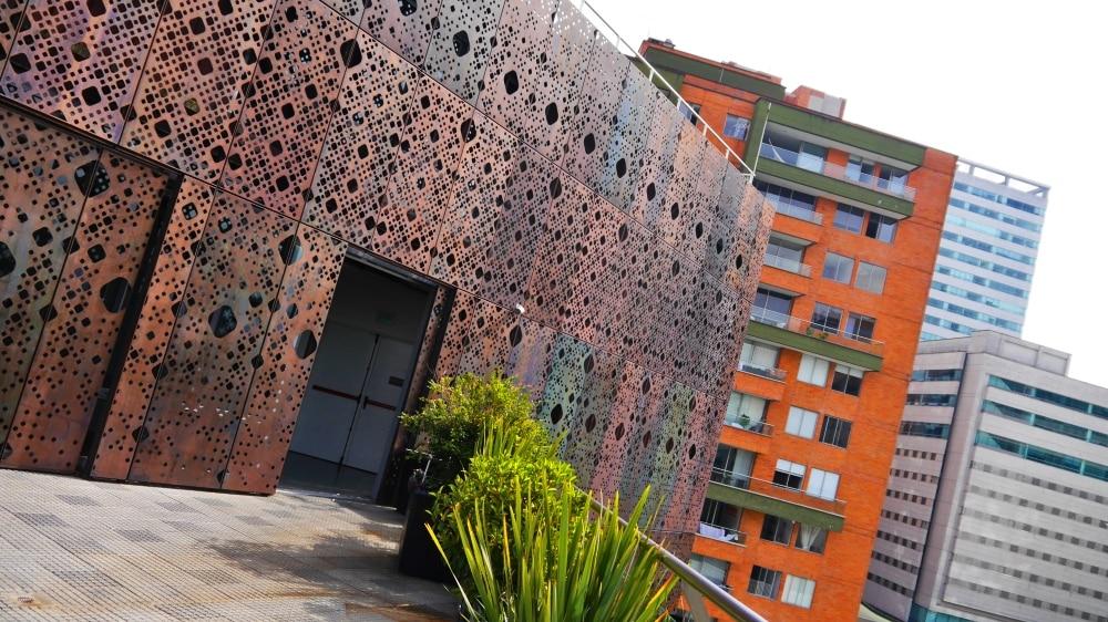 Fachada del Museo de Arte Moderno de Medellín
