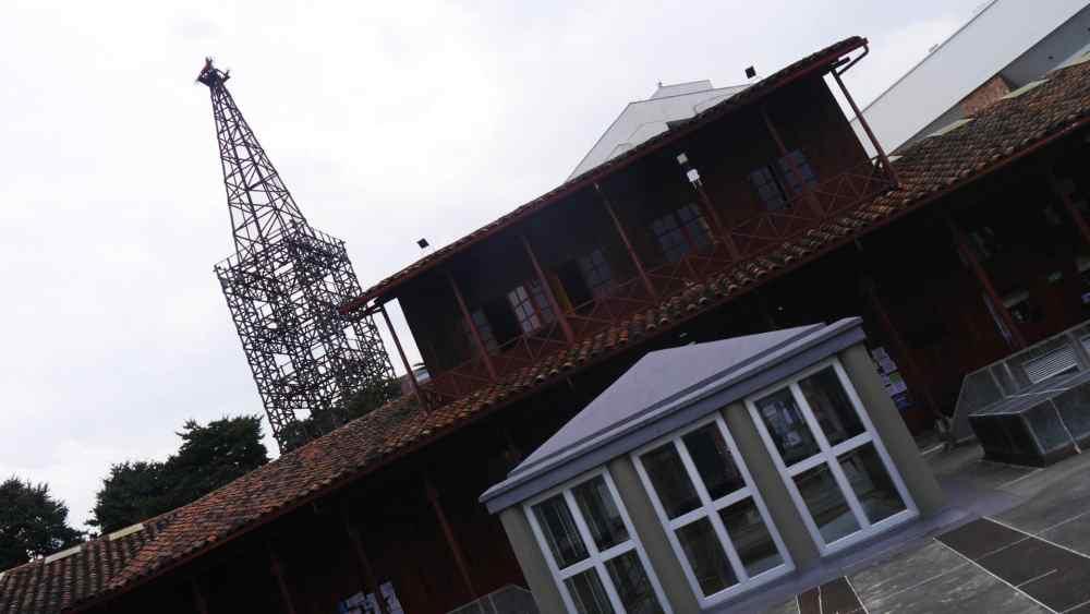 Antigua estación del cable de Manizales