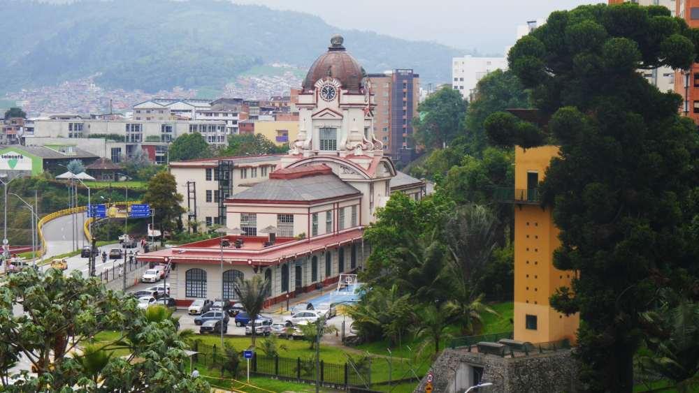 Antigua estación del ferrocarril - Atracciones de Manizales