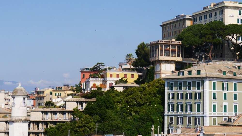 Belvedere Castelletto - Cosas para ver en Génova