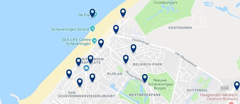 La Haya - Scheveningen - Haz clic para ver todos los hoteles en un mapa
