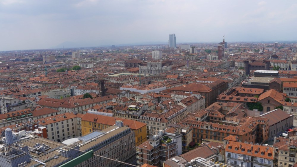 Subir al mirador panorámico de la Mole Antonelliana