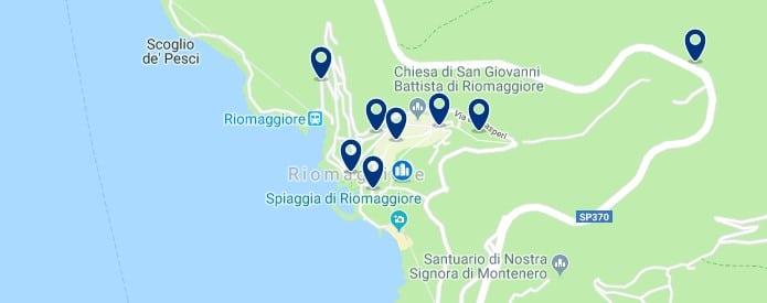 Cinque Terre - Riomaggiore - Haz clic para ver todos los hoteles en un mapa