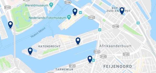 Rotterdam - Feijenoord - Haz clic para ver todos los hoteles en un mapa