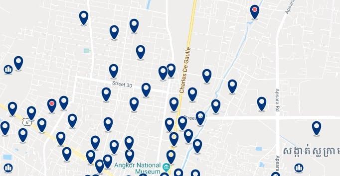 Siem Reap - Charles de Gaulle - Haz clic para ver todos los hoteles en un mapa