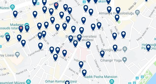 Estambul - Cihangir - Haz clic para ver todos los hoteles en un mapa