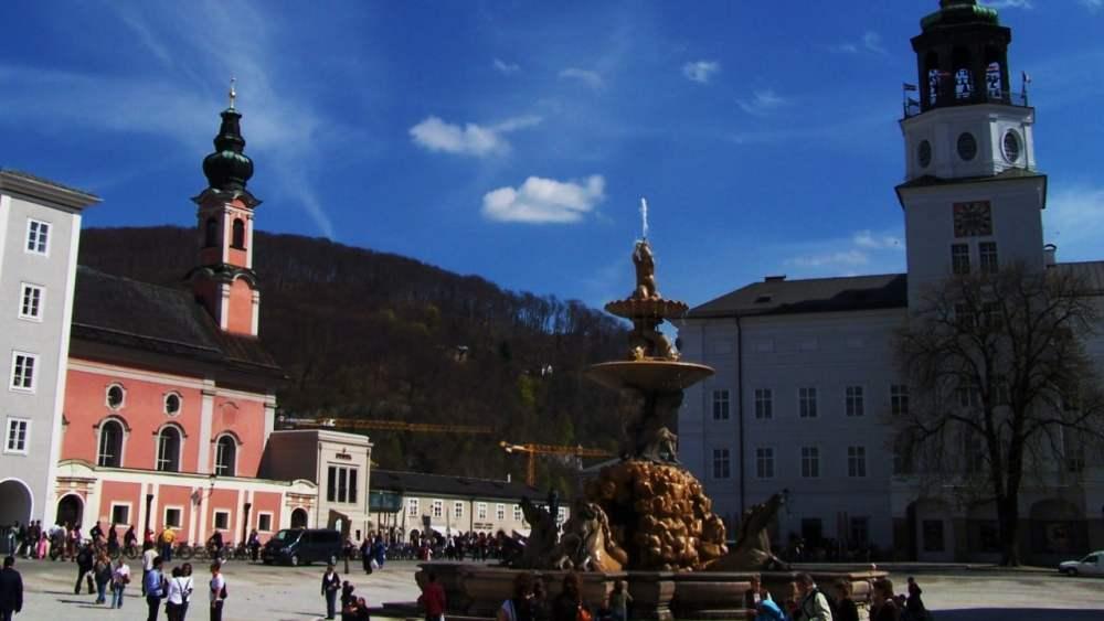 Zona recomendada donde dormir en Salzburgo - Casco Antiguo