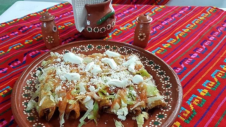 Comida en México - Enchiladas