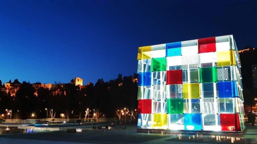 Qué hacer en un viaje a Málaga - Visitar el Muelle Uno y el Pompidou