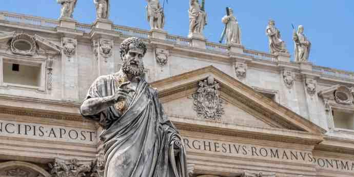 Iglesias más hermosas de Roma - Basílica de San Pedro, ciudad del Vaticano