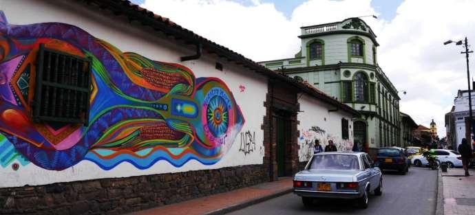 La Candelaria - Zonas de Bogotá