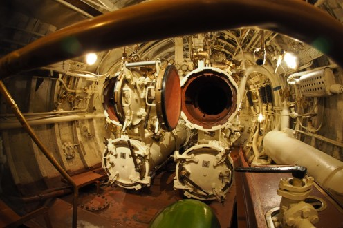 Torpedo room of the Lembit submarine