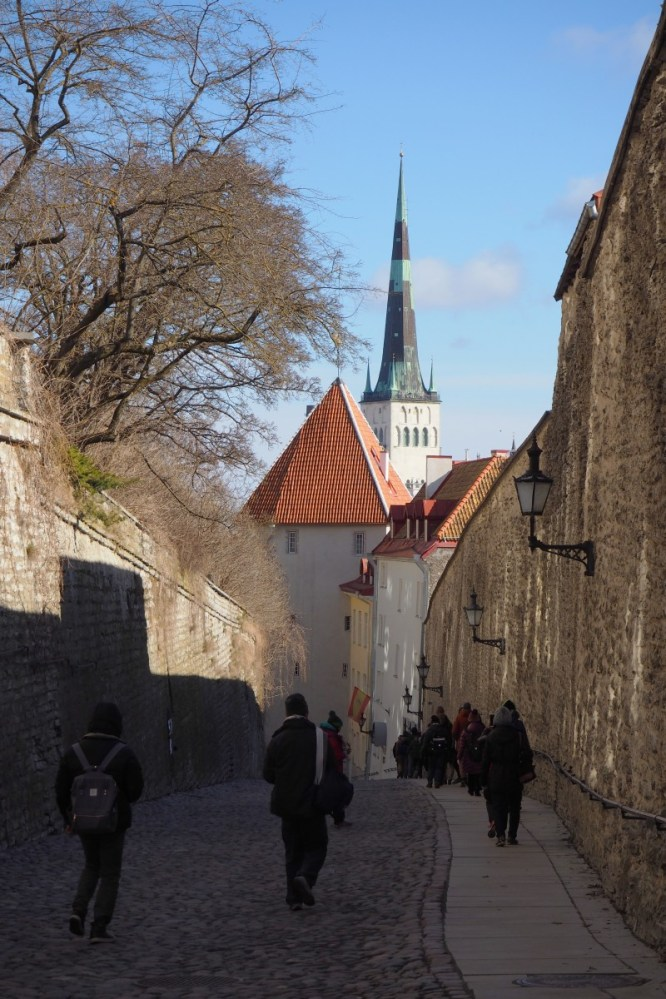 Cobbled streets of Tallinn
