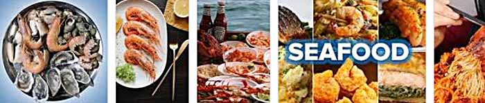 seafood types, seafood dishes names, types of seafood with pictures, seafood list with pictures, what is the most popular seafood, seafood market, seafood restaurant, seafood menu,