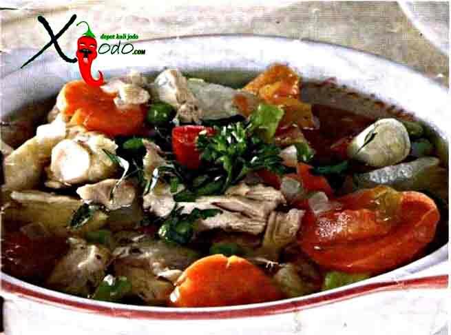 Sup Ikan Ekor Kuning