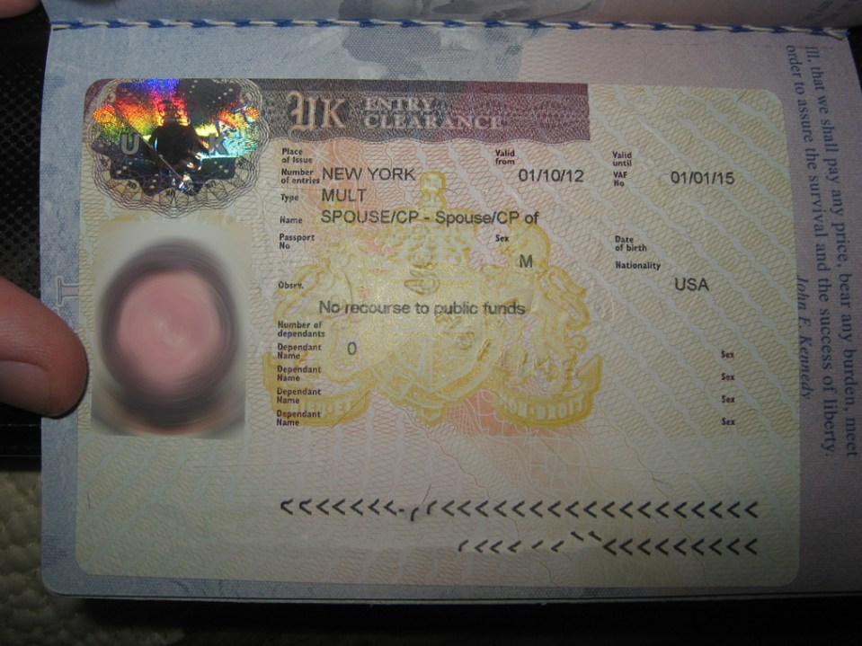 The most terrifying visa in the universe.
