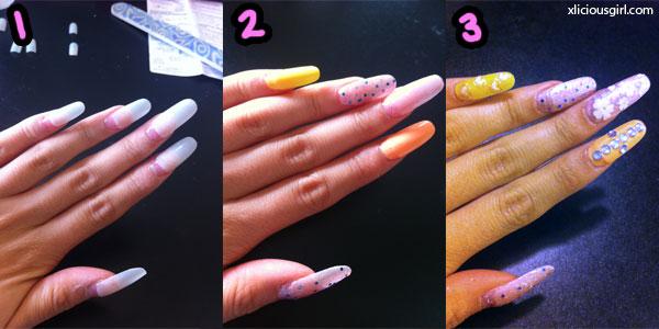 nail steps