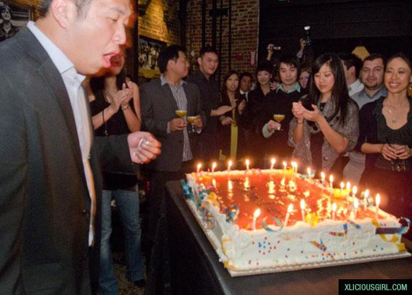 jay's huge birthday cake