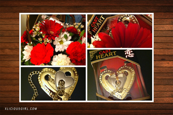 valentines day basket of flowers and cast puzzle