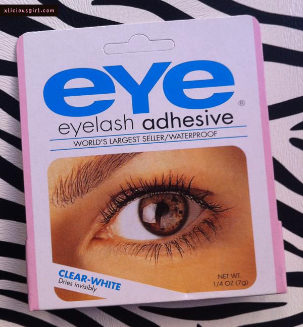 eyelash adhesive package