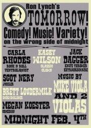 comedy show flier