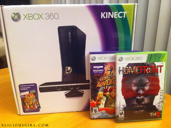 i won a xbox kinect at work
