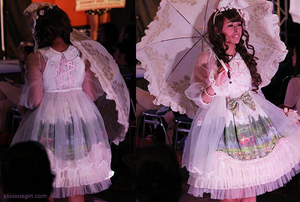 anime expo ax 2014 gyaru lolita fashion show