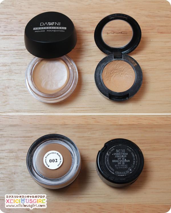 danni professional concealer mac makeup review