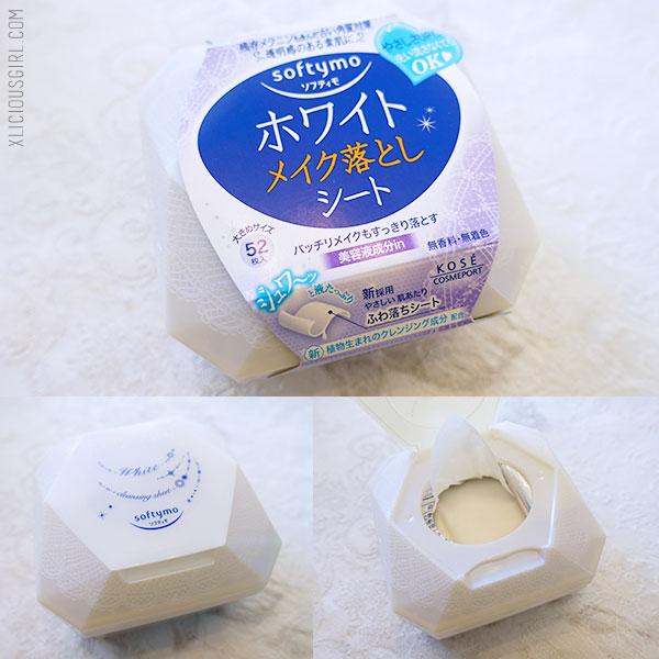 softymo makeup remover sheet