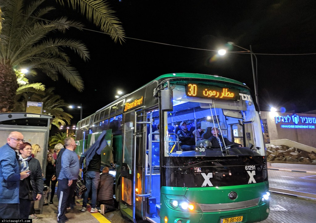 bus 30 to Eilat