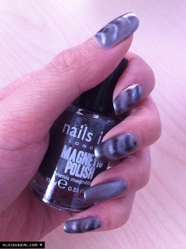magnetic nail polish results