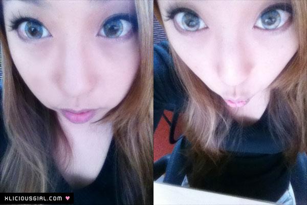 vassen rainbow eyes greenish blue circle lens review xlicious girl blog