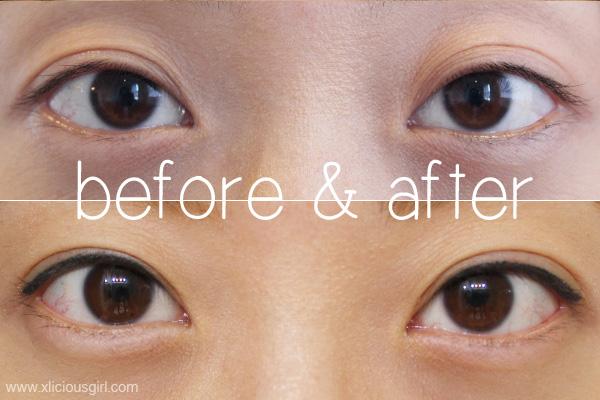 Semi Permanent Eyeliner By Sherri Makeup Xlicious Girl Blog