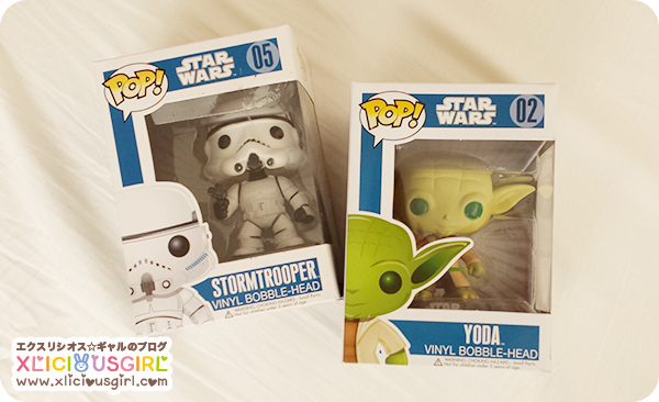 pop star wars stormtrooper and yoda