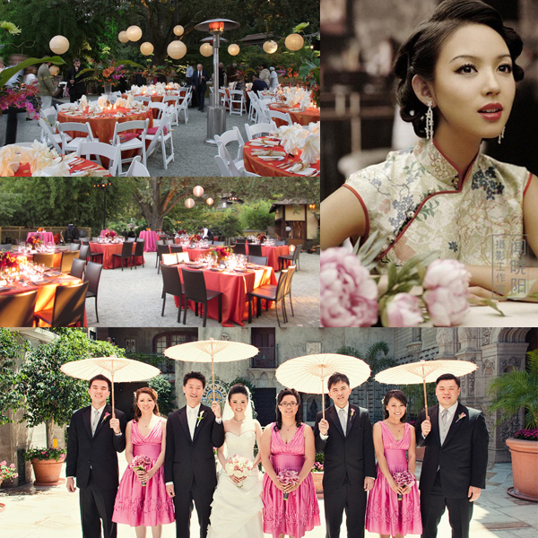 chinese wedding theme idea shanghai 1930s inspiration