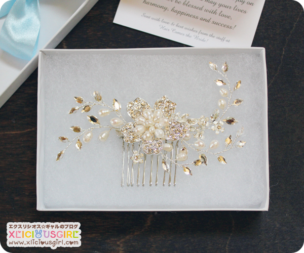 hair comes the bride wedding hair comb vintage