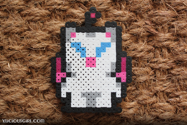 reddit gift exchange secret santa perler beads 8-bit final fantasy