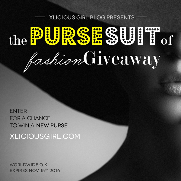 xlicious girl blog the purse suit of fashion giveaway
