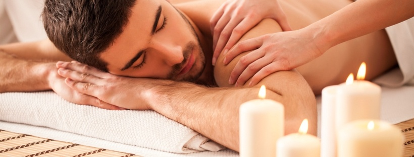Man Relax Massage