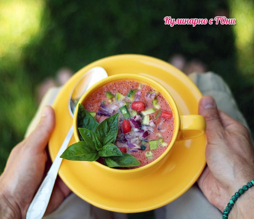Гаспачо - студена лятна супа