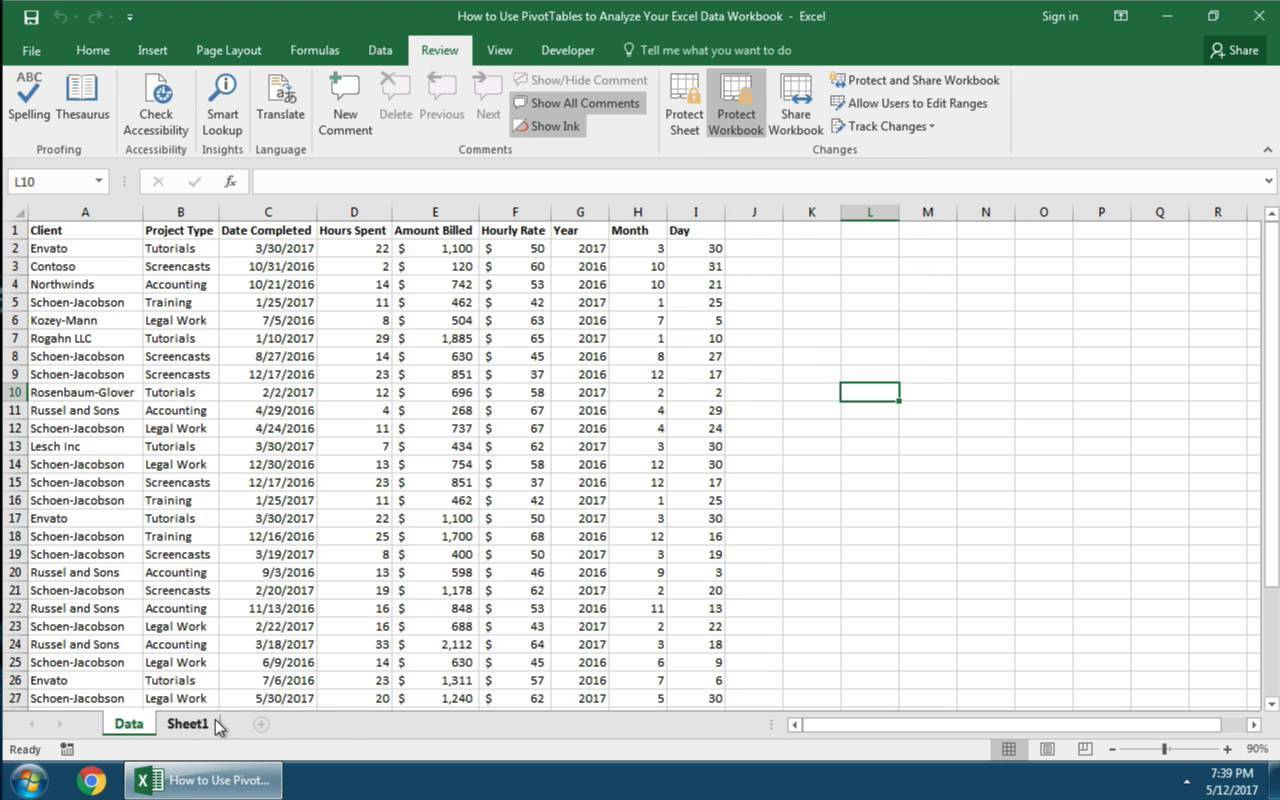 How To Protect A Worksheet In Microsoft Excel