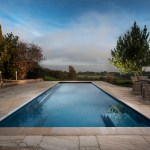Outdoor One-Piece Pool With View