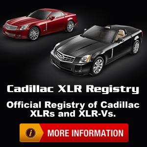 Cadillac XLR Registry