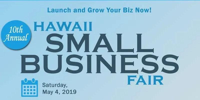 2019 spring hawaii small business fair