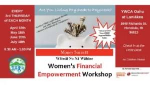 Women's Financial Empowerment Workshop - Hawaii Startup Paradise Events XLR8HI