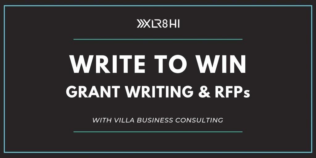 Write to Win: Grant Writing & RFPs