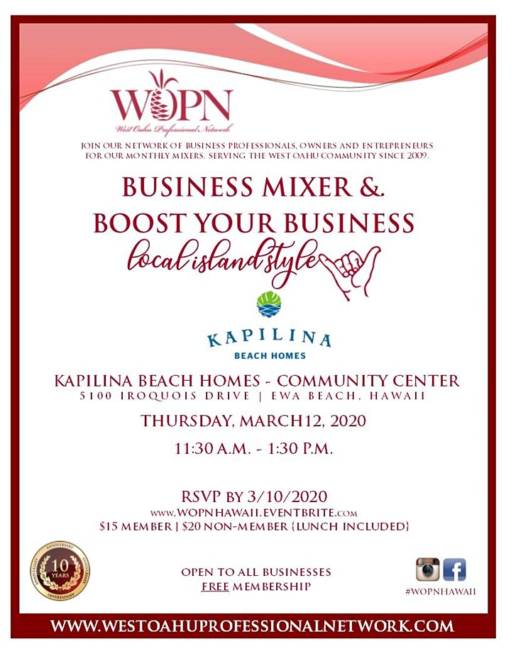 WOPN Business Mixer