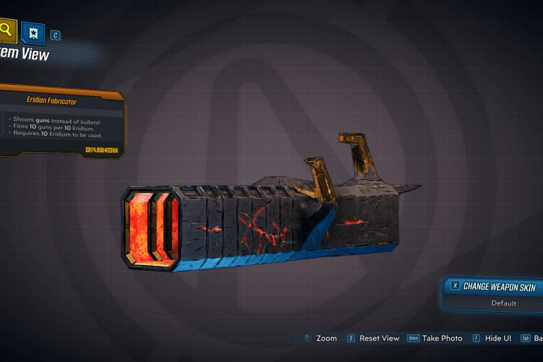 Eridian Fabricator legendary weapon
