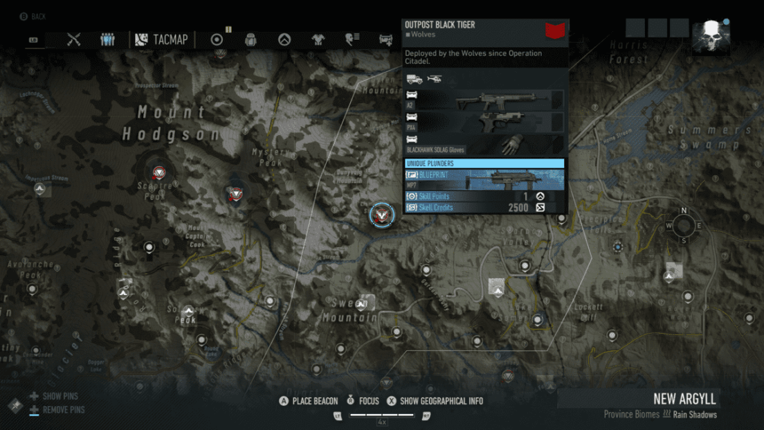 Ghost Recon Breakpoint All 70 Skill Point Locations My Great Capture Screenshot 2019 10 05 11 55 50