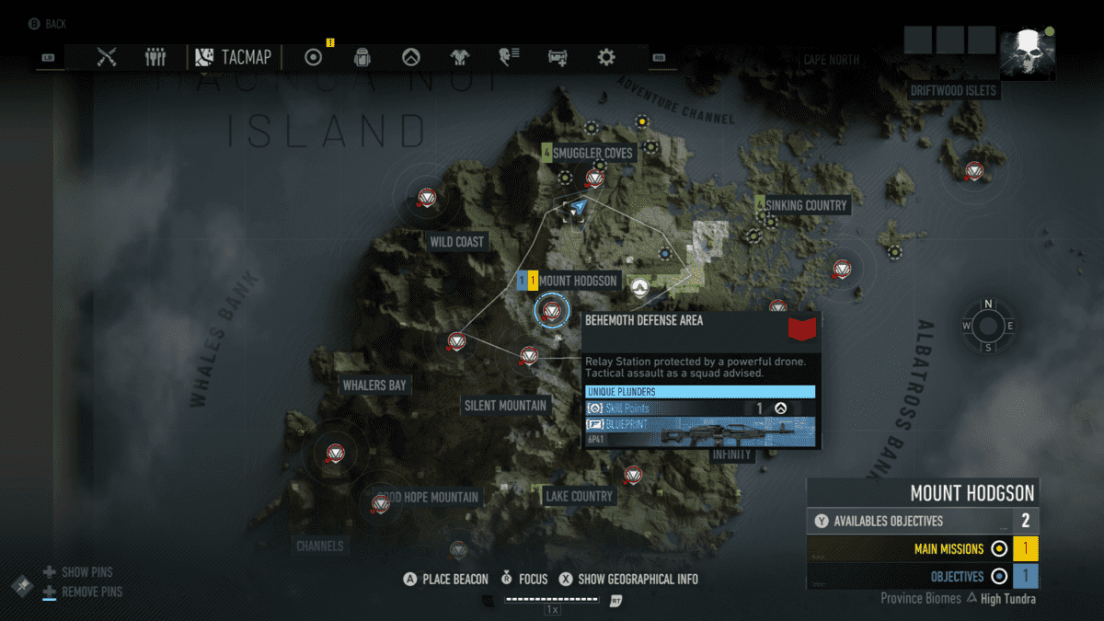 Ghost Recon Breakpoint All 70 Skill Point Locations My Great Capture Screenshot 2019 10 05 15 23 58